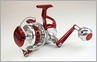 Zeebaas ZX25RBR Full Bail Spinning Reel Red