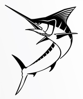 Steelfin Marlin Decals