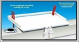 Magma T10-310 Econo Mate Bait & Filet Table 20in x 16in