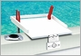 Magma T10-311 Econo Mate Bait & Filet Table 12in x 16in