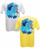 Salt Life SLM018 Men's Tag Sailfish Pocket Tees