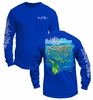 Salt Life SLM021 Men's Mahi Mayhem L/S Pocket Tee