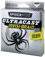 Spiderwire Ultracast Invisi-Braid 65lb-80lb 125yd Filler Spool