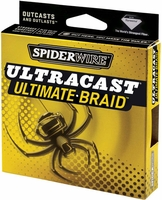 Spiderwire Ultracast Ultimate Braid 65lb 125yd Filler Spool