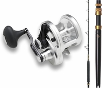 Shimano TAC20BFC Talica TLTMH Tallus Blade Combo with Aftco UB1 Butt