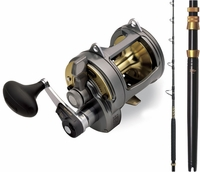 Shimano TYR30II Tyrnos TLTMH Tallus Blade Combo with Aftco UB1 Butt