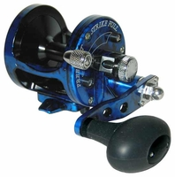 Avet SX 5.3 MC Single Speed Lever Drag Casting Reel Blue/Black Camo