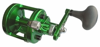 Avet SX 5.3 MC Single Speed Lever Drag Casting Reel Forest Green