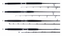 Sea Striker BF1230S70 Billfisher Boat Spin Rod