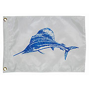 Taylor Made Sailfish Fish Flag