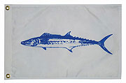 Taylor Made King Mackerel Fish Flag