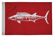 Taylor Made Wahoo Fish Flag