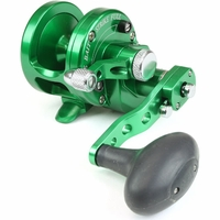 Avet SXJ 6/4 2-Speed Lever Drag Casting Reel Forest Green