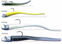Al Gag's Whip-It Eel Lures