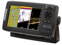 Lowrance Elite 7 HDI Gold Combo with Transducer 50