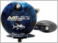 Avet MXL 5.8 Single Speed Lever Drag Casting Reel Blue/Black Camo