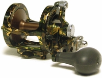 Avet MXL 5.8 MC Single Speed Lever Drag Casting Reel Green Camo