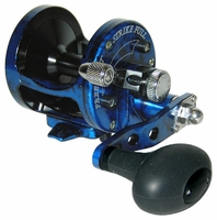 Avet MXL 5.8 MC Single Speed Lever Drag Casting Reel Blue/Black Camo