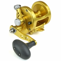Avet MXL 5.8 MC Single Speed Lever Drag Casting Reel Left-Hand Gold