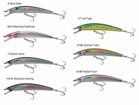 Yo-Zuri Crystal Minnow Suspending F1008 3-1/2in