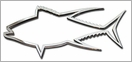 Stickerup Fish Series Tuna Decal