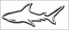 Stickerup Fish Series Shark Decal