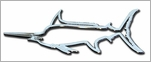 Stickerup Fish Series Marlin Decal