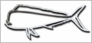 Stickerup Fish Series Mahi Mahi Decal