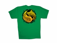 Pelagic 1817-G OCP Yin Yang T-Shirt Green Large