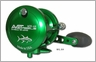 Avet MXL 6/4 2-Speed Lever Drag Casting Reel Green