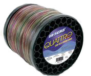 Hi-Seas Quattro Plus Low-Vis Camo Line 5 lb. Spool