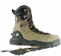 Korkers FB3625 KGB Guide Boot Kangaroo Black