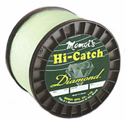 Momoi 12060 Hi-Catch Diamond 60Lb. 1000Yds Clear