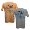 Salt Life Deep Sea Fade SLX Performance S/S T-Shirts