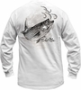 Salt Life SLM062 Men's Striper Crazy LS Pocket Tee