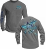 Salt Life SLM059 Mens Marlin Spool LS Pocket Tees
