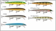 Rapala Original Floating Lures