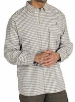Exofficio 1001-1158 S10 6327 Men's Airstrip Lite Micro Plaid L/S Shirt