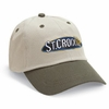 St. Croix Two-Tone Twill Logo Adjustable Strap Cap