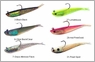 Tsunami Soft Bait Split Tail Minnow Lures