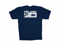 Pelagic 132-N Flag Yellowfin Tee Shirt