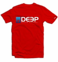 Deep Ocean Deep T-Shirt Red