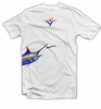 Deep Ocean Marlin Wrap T-Shirt