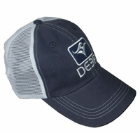 Deep Ocean Trucker Hat Blue
