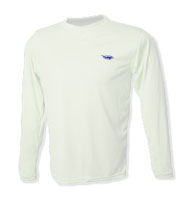 Old Harbor Outfitters P625L Hydro Performance Shirt Long Sleeve White