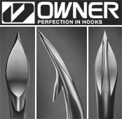 Owner Freshwater Cutting Point Hooks