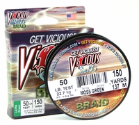 Vicious SBPG 150 Yds. Braided Fishing Line 50lb Test