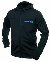 Shimano Technical Softshell Hooded Jacket Black