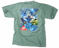 36North Collage Icon Tee Seafoam