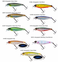 Yo-Zuri 3DS Minnow Lures